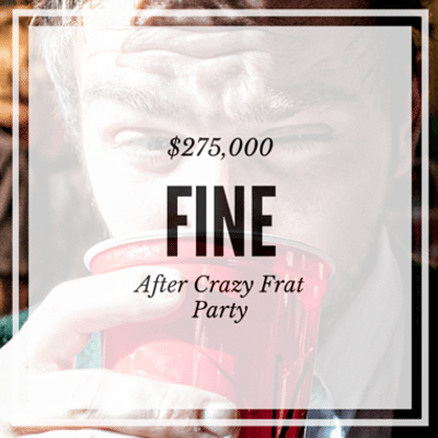 Drs: Students Fined For Frat Party + Child Abandoned At Hospital