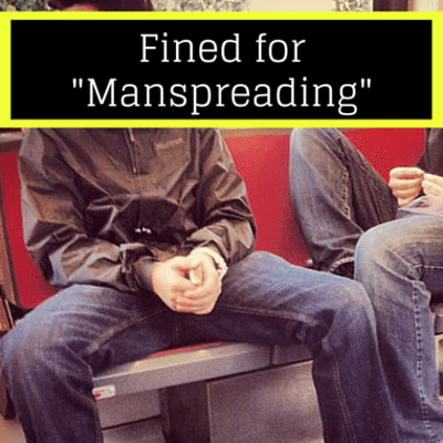 """Drs: """"Manspreading"""" Subway Fine + Custody Fight With Surrogate"""