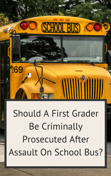 Drs: Can A First Grader Be Charged With Assault? + Janet Hubert