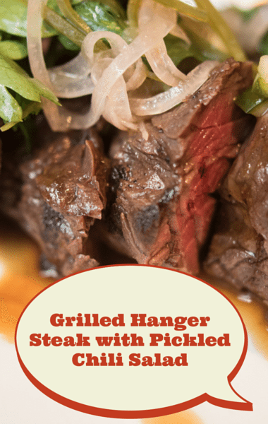 The Chew: Restaurant Secrets + Hanger Steak & Pickled Chilies