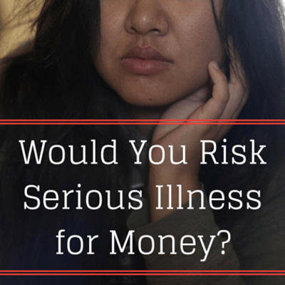 Drs: Risky Medical Trials For Money + Model Tattooed Eyes Black
