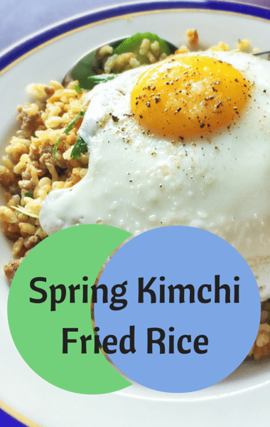 The Chew: Spring Kimchi Fried Rice + Deviled Egg Salad Sandwiches