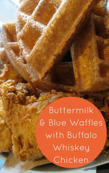 Rachael Ray: Ayesha Curry Chicken + Buttermilk & Blue Waffles
