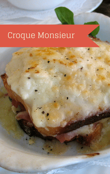 The Chew: Croque Monsieur + Asparagus With Sunny-Side-Up Eggs