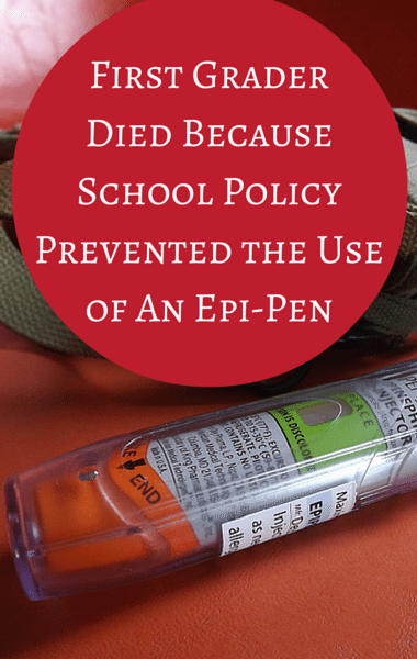 Drs: Child Died After Policy Prevented Use Of Life-Saving Epi-Pen