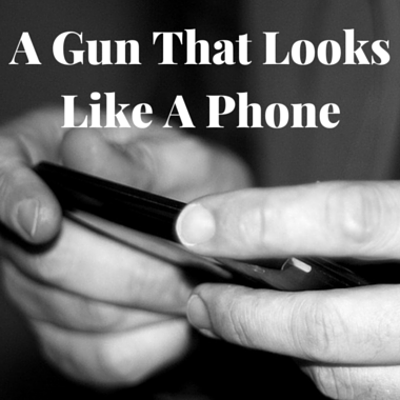 Drs: Ideal Conceal Gun Resembles Phone + Whoopi & Maya Cannabis