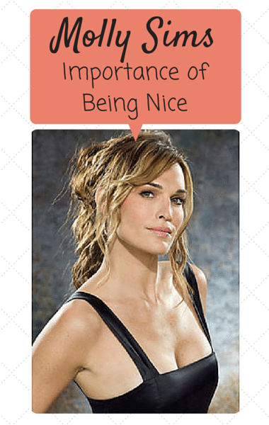 Drs: Molly Sims Importance Of Being Nice + Prevent Identity Theft