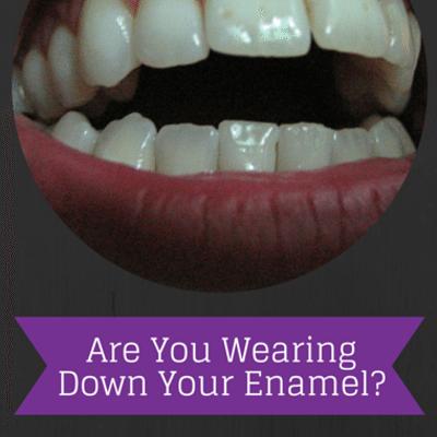 wearing-down-enamel-