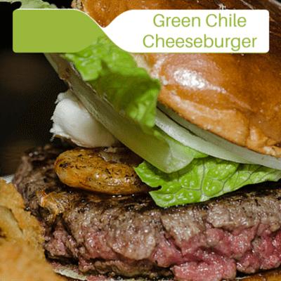 The Chew: Green Chile Cheeseburger + Grilled Peach Bourbon Smash