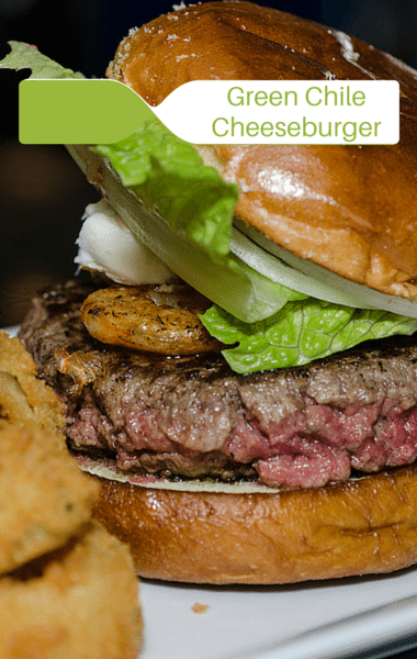 The Chew: Green Chile Cheeseburger + Grilled Peach Bourbon Smash