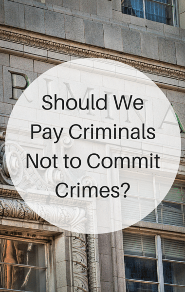 Drs: Paying Criminals Not To Reoffend + KAMRA Inlay Eye Procedure