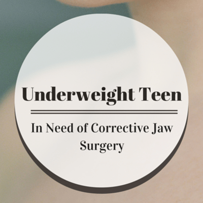 Drs: 90-Pound Teen With Jaw Defect Needs Life-Changing Surgery