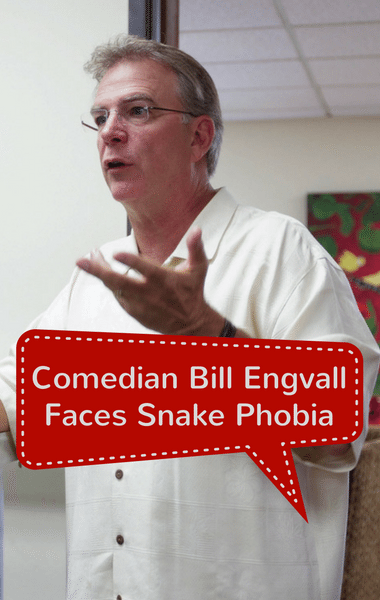 Drs: Comedian Bill Engvall Snake Phobia + Cushion For Safer Farts