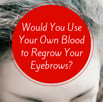 Drs: Grow Eyebrows With Your Blood + Cream VS Powder Sunscreen