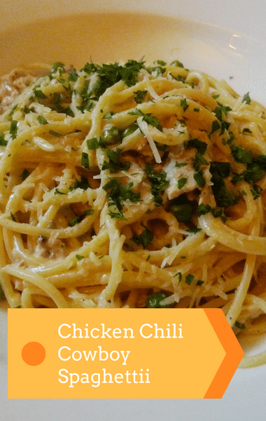 Rachael Ray: Chicken Chili Cowboy Spaghetti + One Pan Dinners