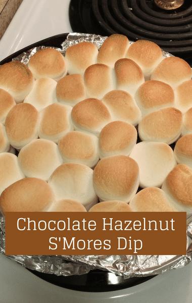 The Chew: Chocolate Hazelnut S'Mores Dip + Spiced Apples & Cream