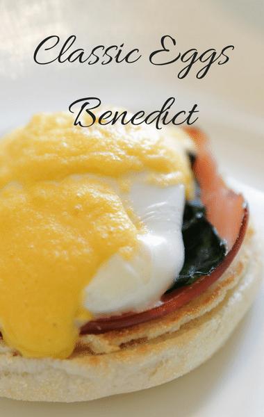 Rachael Ray: Eggs Benedict + Chicken Fettuccine & Cheese Sauce