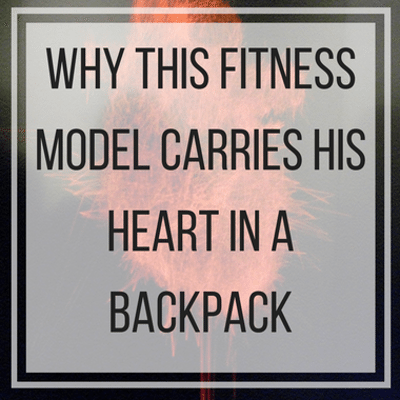 Drs: Fitness Model With Artificial Heart In Backpack + Vitamin E