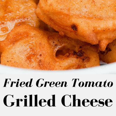 The Chew: Twisted Southern + Fried Green Tomato Grilled Cheese