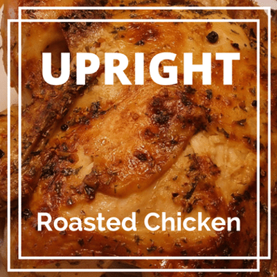 Rachael Ray: Upright Roast Chicken + Firecracker Deviled Corndogs