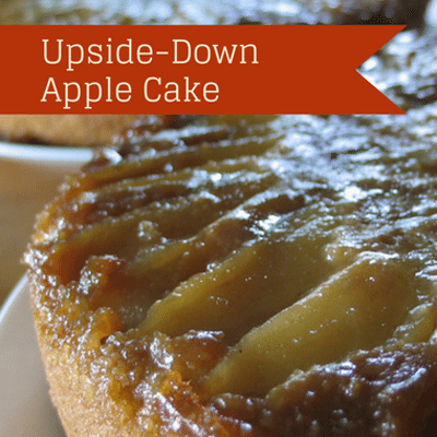 The Chew: Upside-Down Apple Cake + Pumpkin Bruschetta Recipe