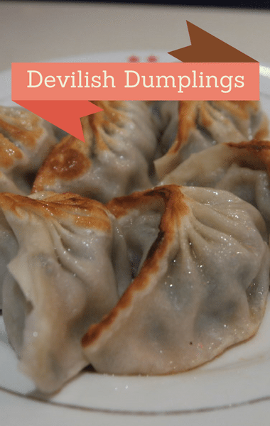 The Chew: Devilish Pork Dumplings Recipe