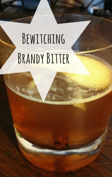 The Chew: Bewitching Brandy Bitter Recipe The Chew, Warm Brandy Drink Recipe The Chew Halloween Cocktail Recipe The Chew, Warm Fall Cocktail Recipe The Chew