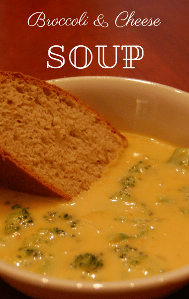 The Chew: Broccoli & Cheese Soup Recipe