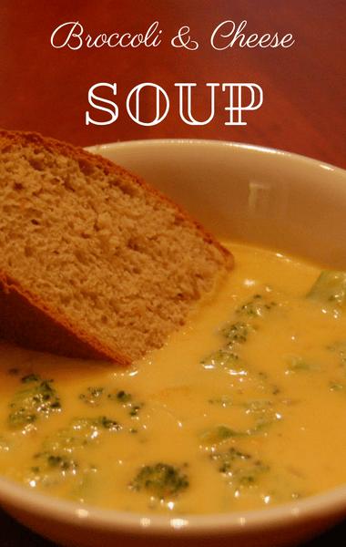 The Chew: Broccoli & Cheese Soup Recipe