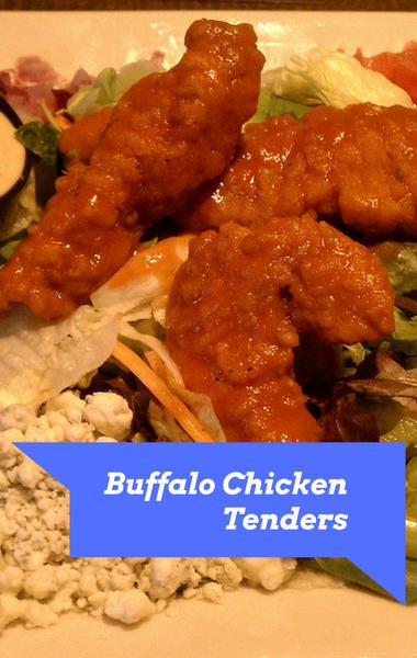The Chew: Serena Wolf Buffalo Chicken Tenders & Yogurt Ranch