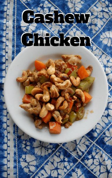Rachael Ray: Cashew Chicken Recipe