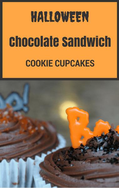 Rachael Ray: Halloween Chocolate Sandwich Cookie Cupcakes Recipe