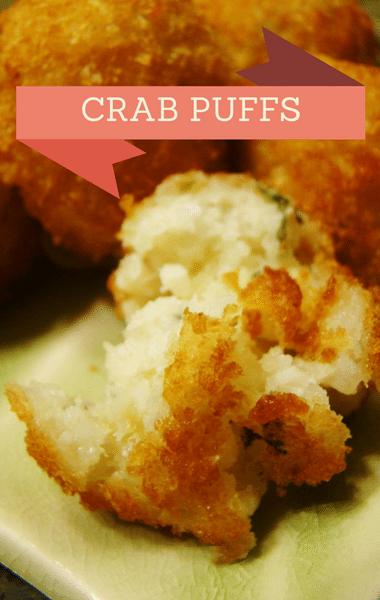 The Chew: Crab Puffs + Spaghetti With Chicken Meatballs Recipe