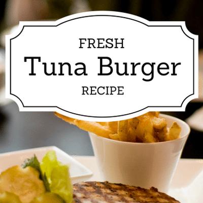 The Chew: Fresh Tuna Burger Recipe