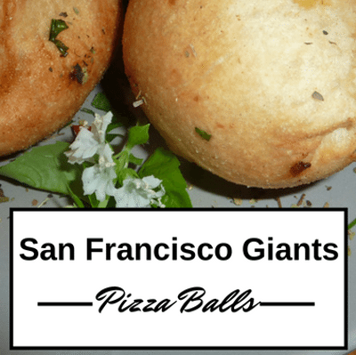 Rachael Ray: Ryan Scott San Francisco Giants Pizza Balls Recipe