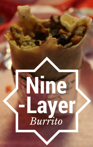 Rachael Ray: Nine-Layer BBQ Chicken Burrito Recipe