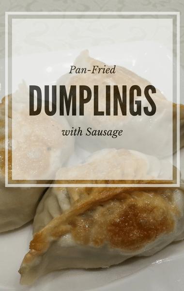 The Chew: Pan-Fried Dumplings With Sausage Recipe