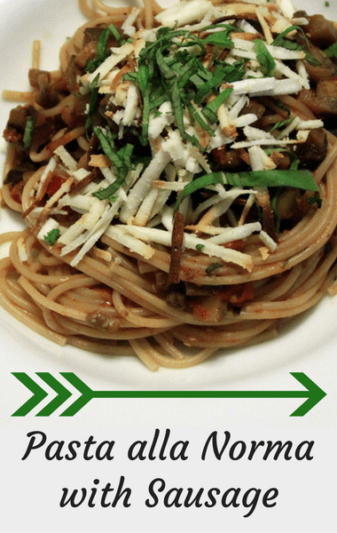 Rachael Ray: Pasta Alla Norma With Sausage Recipe