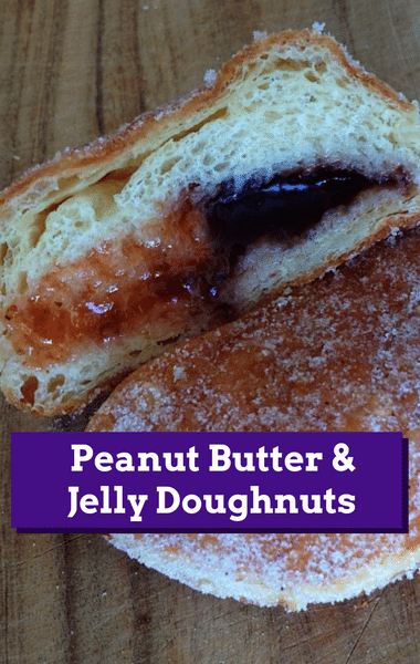 Rachael Ray: Ryan Scott Peanut Butter & Jelly Doughnuts Recipe
