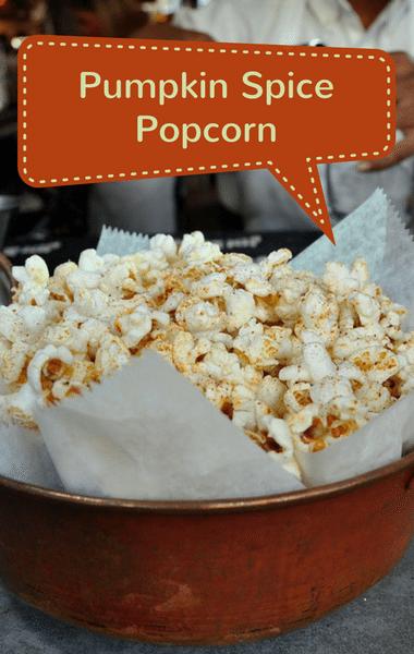 Rachael Ray: Sunny Anderson Pumpkin Spice Popcorn Recipe