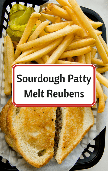 Rachael Ray: Sourdough Patty Melt Reubens Recipe