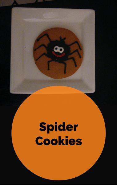 Rachael Ray: Halloween Spider Cookies Recipe