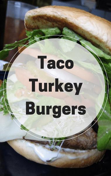 Rachael Ray: Bob Harper Taco Turkey Burgers Recipe