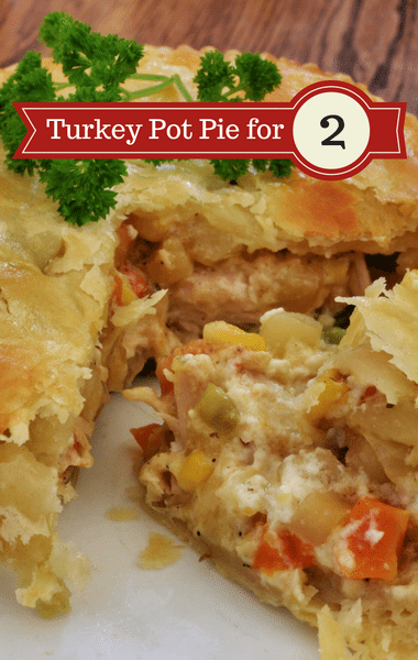 The Chew: Turkey Pot Pie For Two Recipe