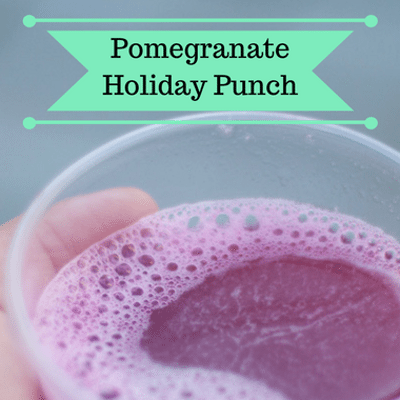 The Chew: Pomegranate Holiday Punch Recipe