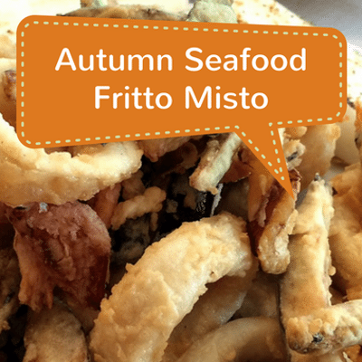 Rachael Ray: Seafood Fritto Misto & Sicilian Pizza With Sausage