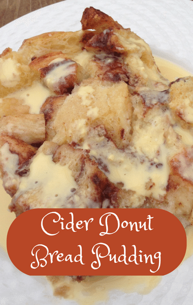 The Chew: Cider Donut Bread Pudding Recipe