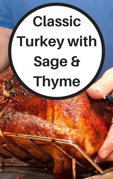 The Chew: Classic Turkey With Sage & Thyme Recipe