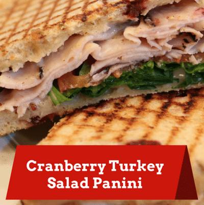 Turkey, Cranberry & Havarti Panini Recipe — Dishmaps