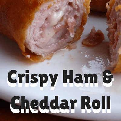 The Chew: Crispy Ham & Cheddar Roll Recipe